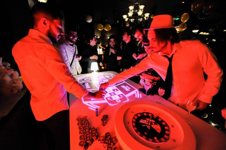 soirée thème casino agence evenementielle montpellier