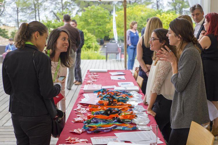 Alumni montpellier verchant accueil convention remise badge
