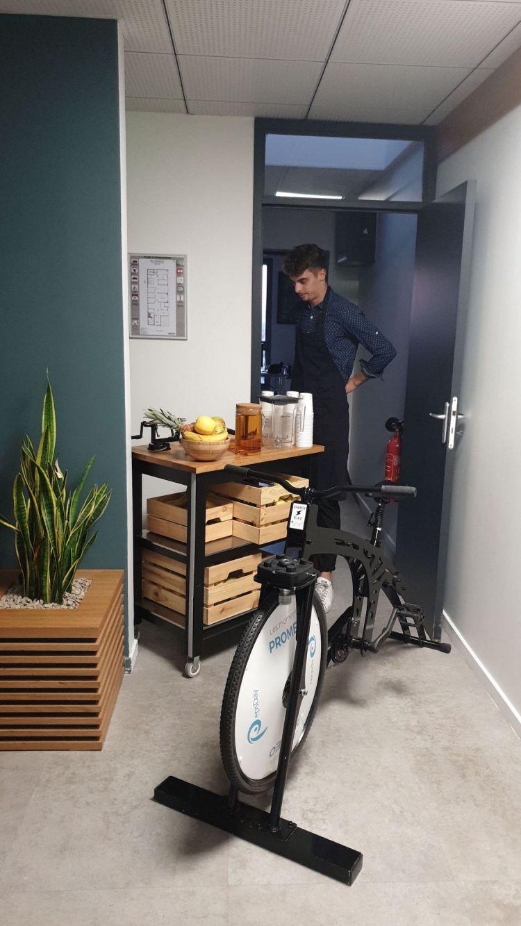 Vélo smoothie entreprise
